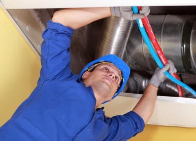 Ремонт вентиляции в частном доме