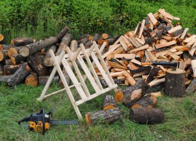 Делаем козлы для заготовки дров