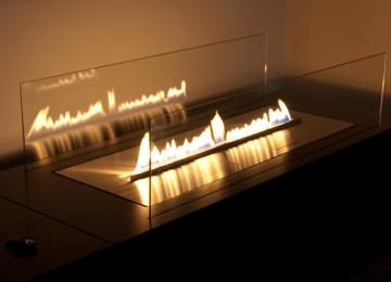 Спиртовой камин — экологически чистый огонь в интерьере
