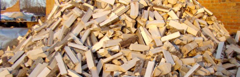 Как надо правильно хранить дрова?