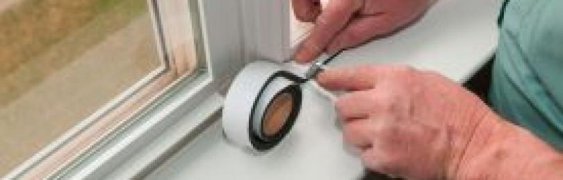 Как утеплить пластиковые окна и подоконник своими руками