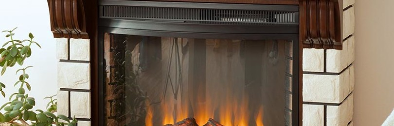 Электрический камин — стильный элемент интерьера и обогрев квартиры