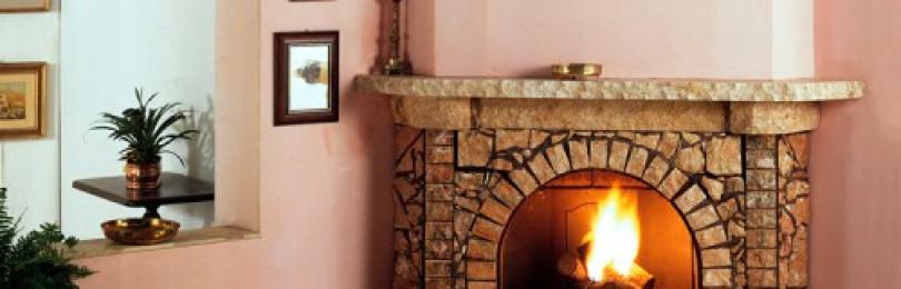 Современные камины в дизайне домашних интерьеров