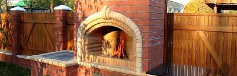 Строим печь-барбекю