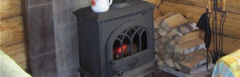 Как установить в садовом домике печку буржуйку по всем правилам пожарной безопасности