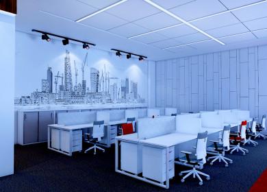Офис для строительной компании