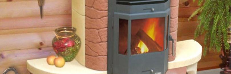 Печи-камины с теплообменником