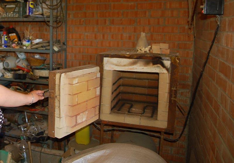 Муфельный агрегат для обжига керамики