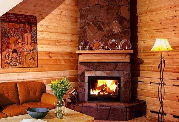 Уютный дом с очагом