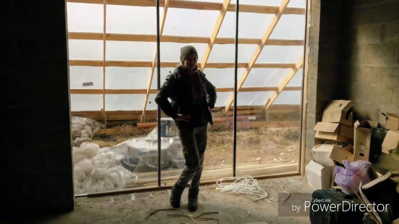 как сделать панорамное окно в частном доме своими руками