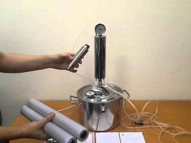 царга для самогонного аппарата, для чего она нужна и как сделать своими руками