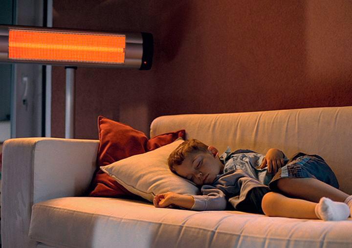 инфракрасная лампа для обогрева: виды, как работает