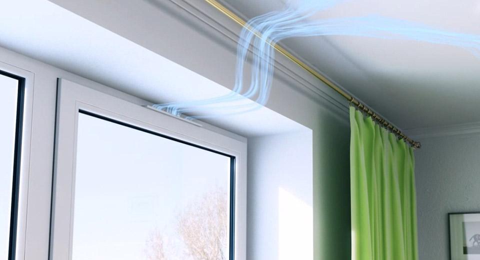 приточный клапан на пластиковые окна, установка своими руками