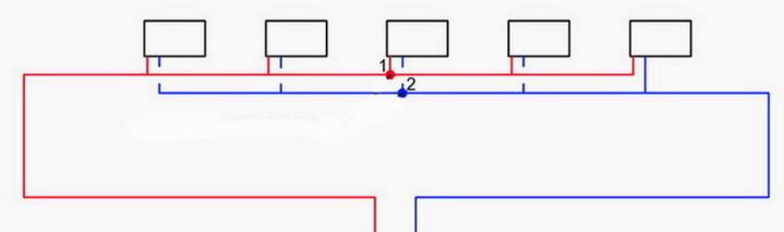 петля тихельмана: схема для частных домов
