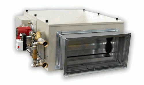 Монтаж водяного калорифера для приточной вентиляции