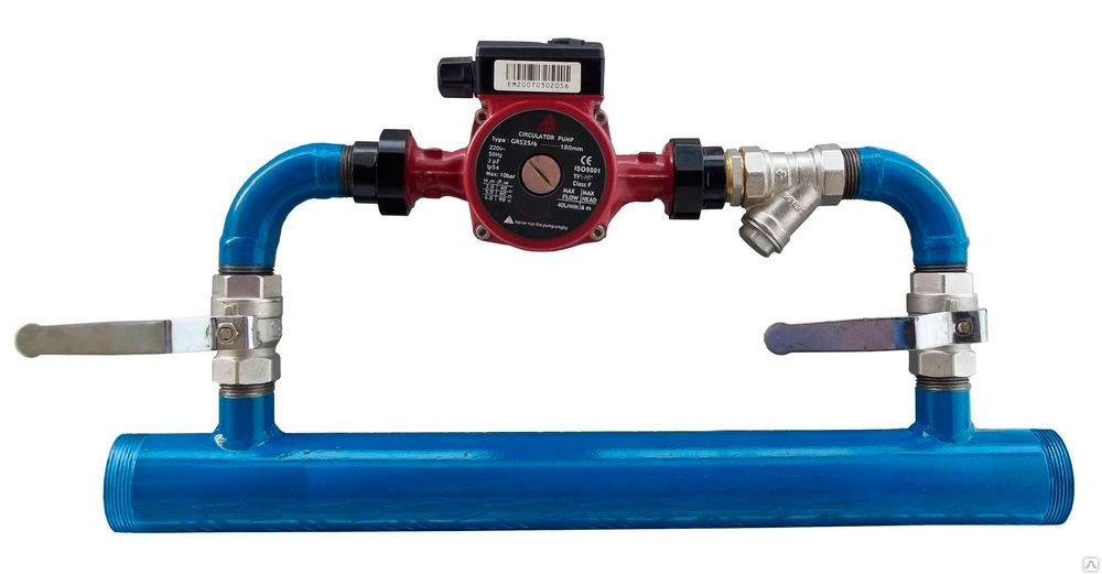 установка байпаса в системе отопления своими руками