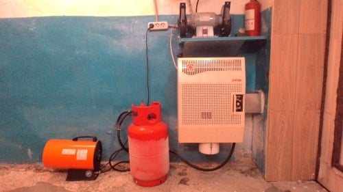 отопление в гараже своими руками, самые экономные способы