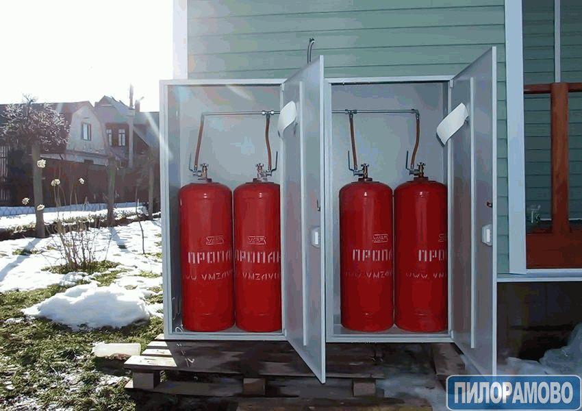 расход газа газовым конвертером при отоплении дома