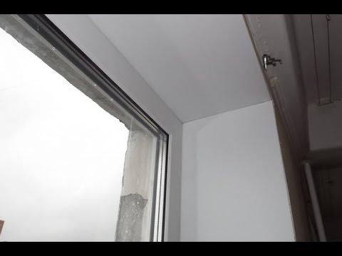 монтаж откосов на пластиковые окна своими руками