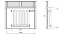 правильная установка радиатора отопления под окном своими руками