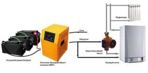 бесперебойник (ИБП) для насоса отопления: выбор и подключение