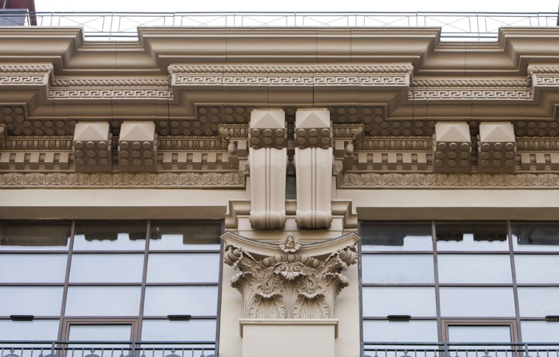 важнейшие архитектурные элементы фасада здания
